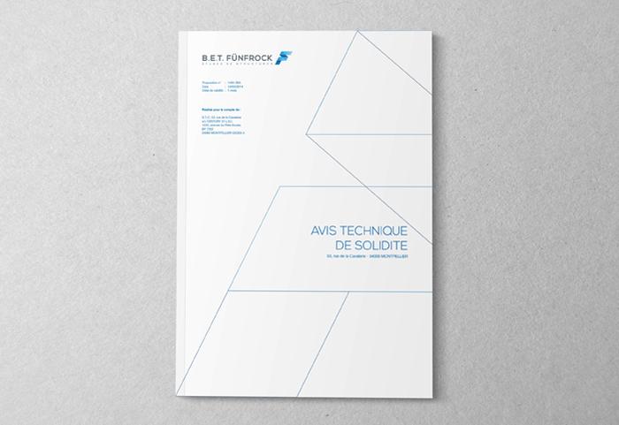 Couverture du dossier d'Avis Technique de Solidité pour un bureau d'étude de structure