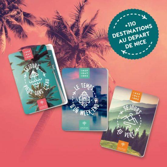 Direction artistique de la campagne de mars 2019 pour l'aéroport de Nice Côte d'Azur