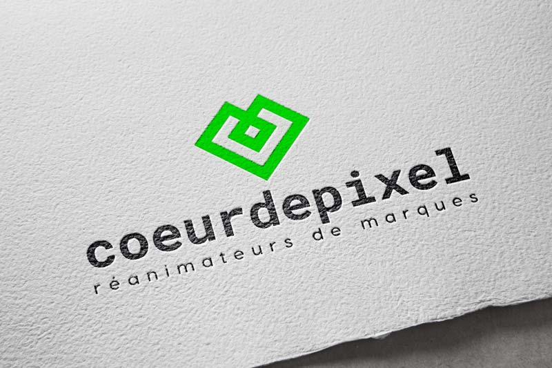 Logo du collectif CoeurdePixel