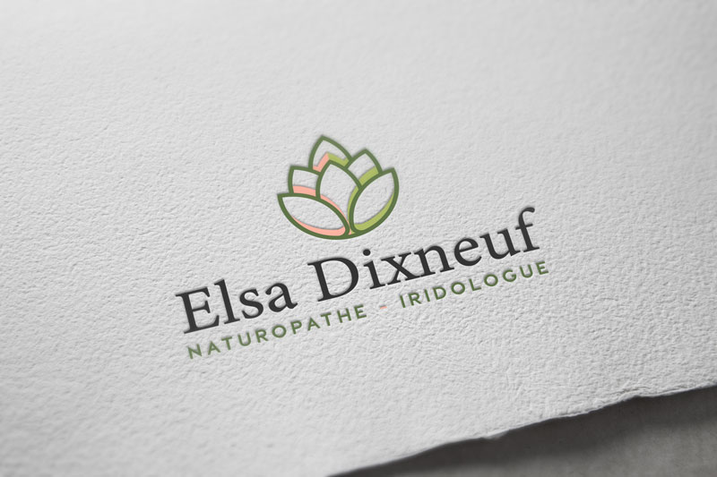 Logo de la naturopathe Elsa Dixneuf